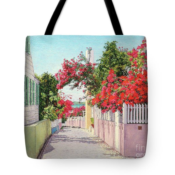 King And Crown Street Tote Bag