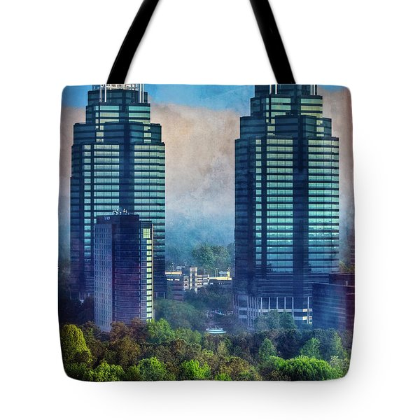 King And Queen Buildings Tote Bag