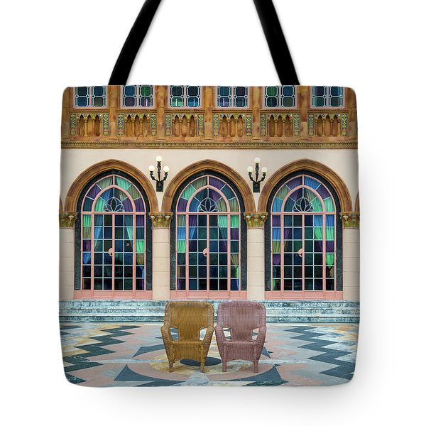 King And Queens Chairs Tote Bag