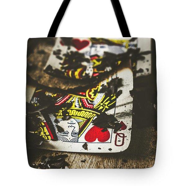 King And Queen Of Broken Hearts Tote Bag
