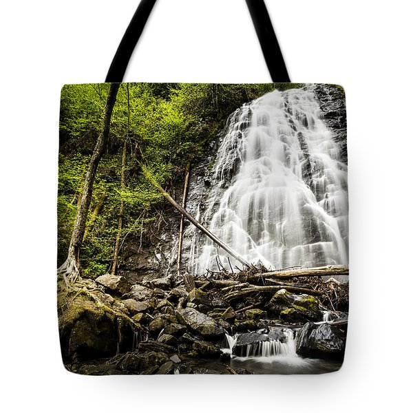 Crabtree Falls - Blue Ridge Parkway North Carolina Tote Bag