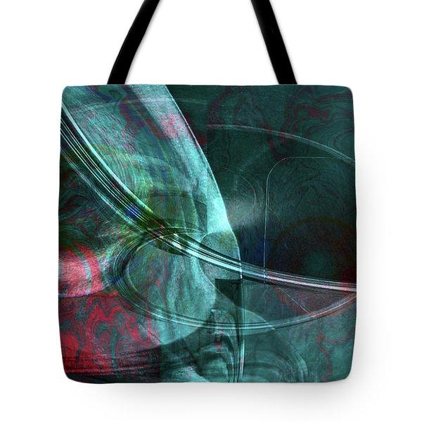 Tote Bag featuring the digital art King Crimson by Linda Sannuti