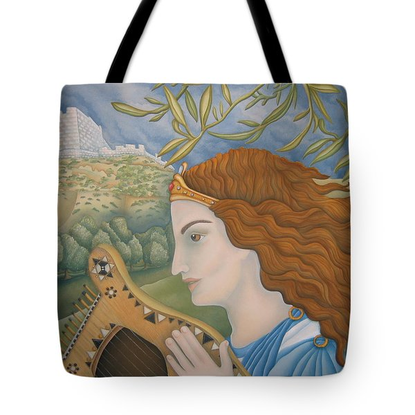 King David In His Youth Tote Bag