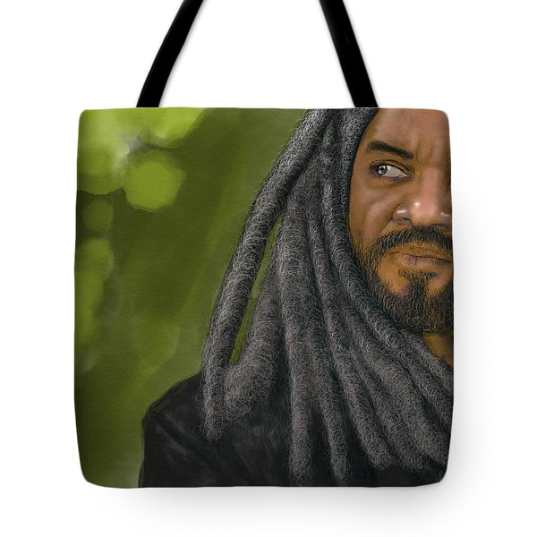 King Ezekiel Tote Bag