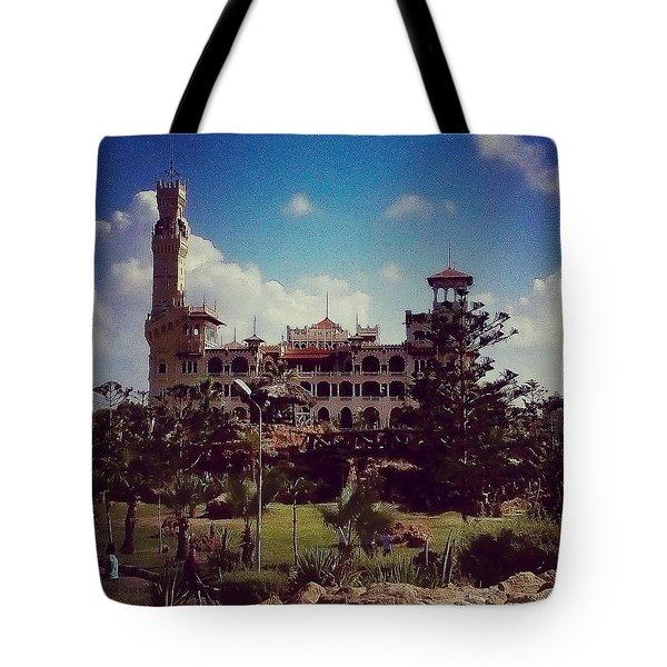 King Farouk Castle, Alexandria, Egypt Tote Bag