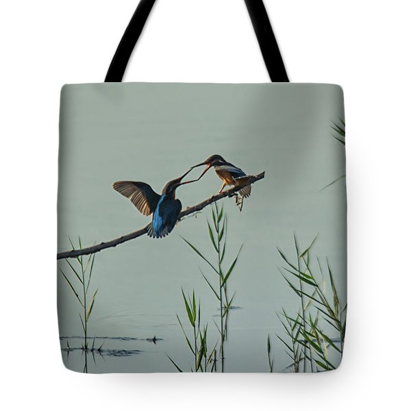 King Fishers  Tote Bag