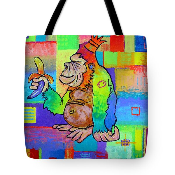 King Konrad The Monkey Tote Bag