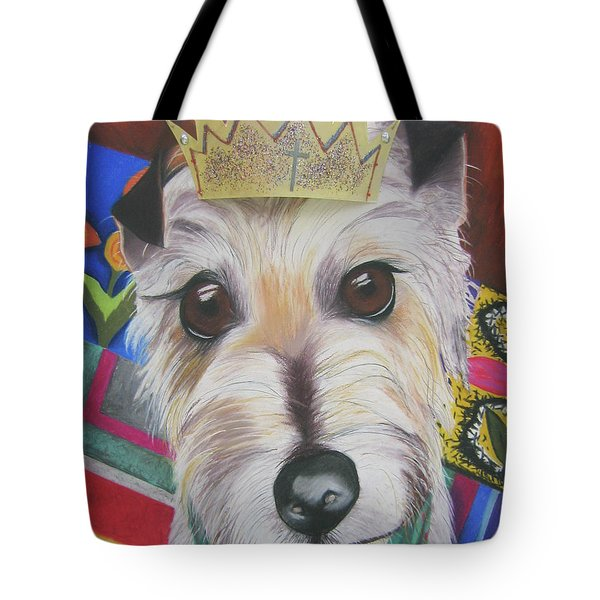King Louie Tote Bag by Michelle Hayden-Marsan