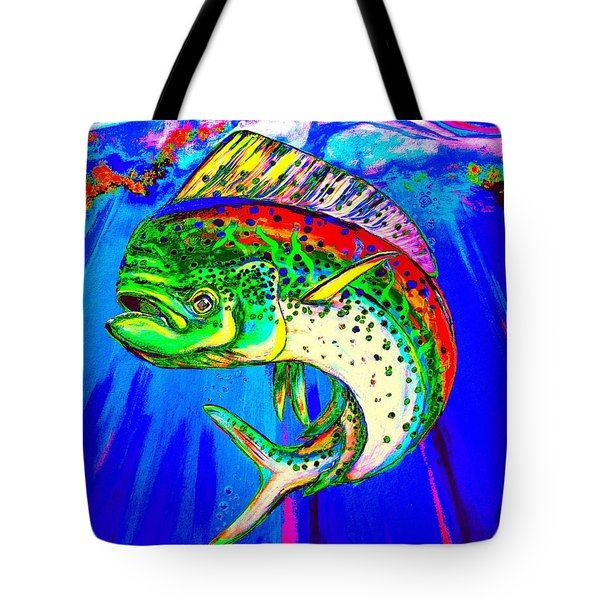 King Mahi-mahi Tote Bag