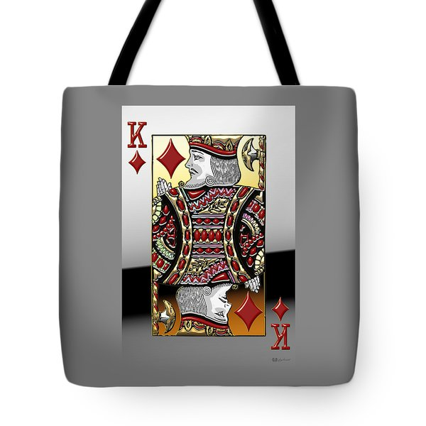 King Of Diamonds   Tote Bag