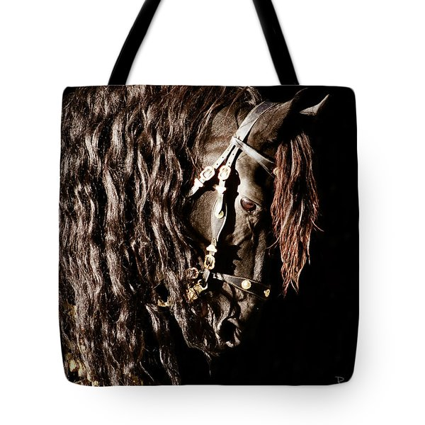 King Of Horses Tote Bag