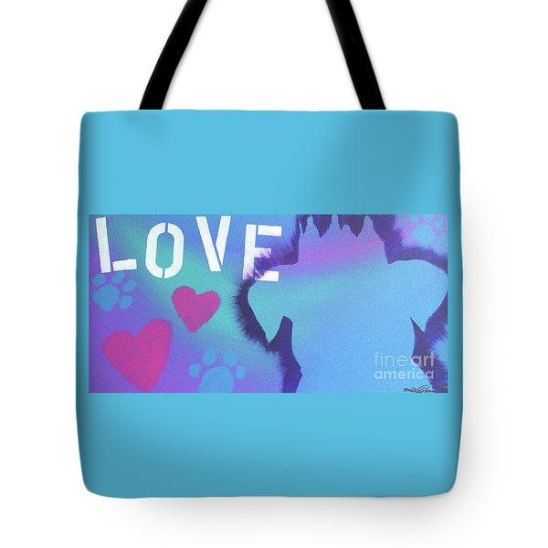 Tote Bag featuring the painting King Of My Heart by Melissa Goodrich