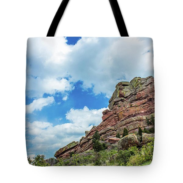 Tote Bag featuring the photograph King Of Rocks by Tyson Kinnison