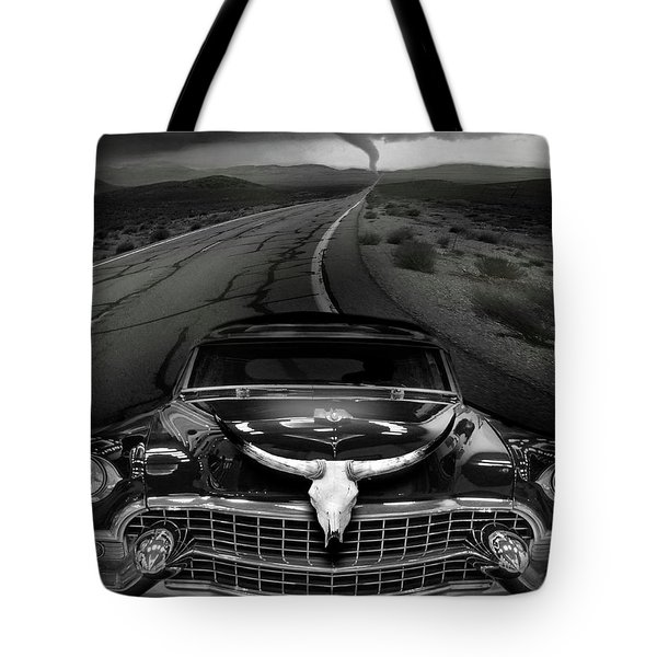 King Of The Highway Tote Bag by Larry Butterworth
