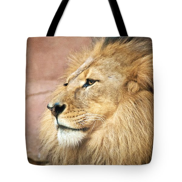 King Of The Jungle Tote Bag