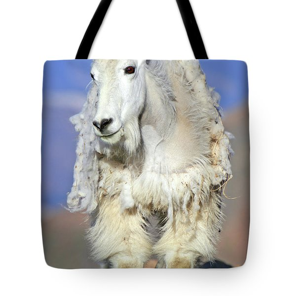 King Of The Mountain Tote Bag by Scott Mahon