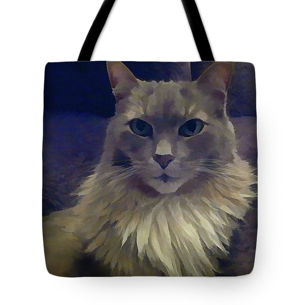 King Of The Sofa Tote Bag