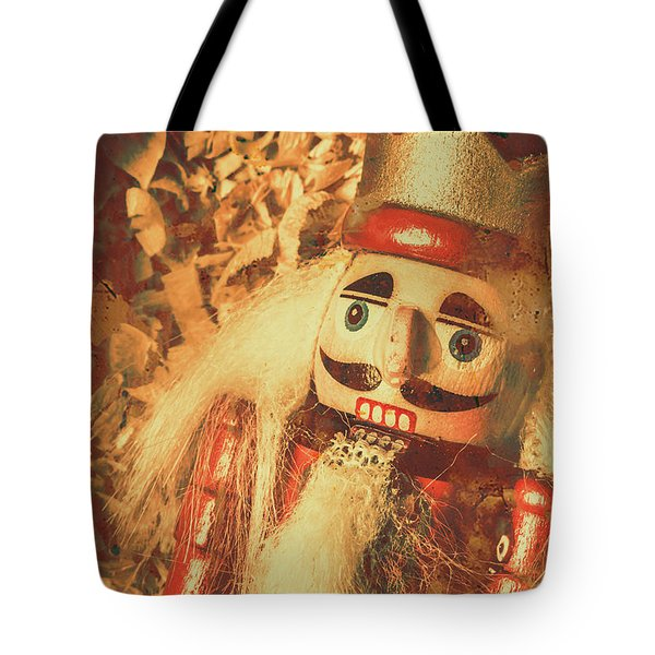 King Of The Toy Cabinet Tote Bag