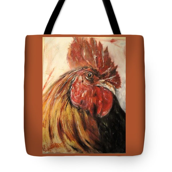 King Rooster Tote Bag