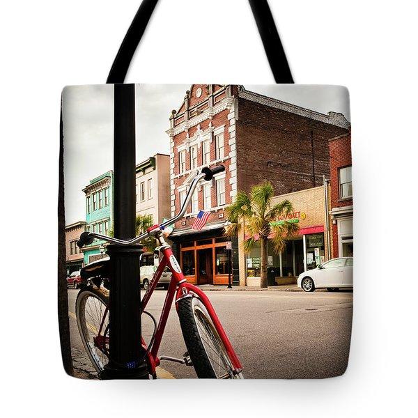 King Street Charleston Sc  -7436 Tote Bag
