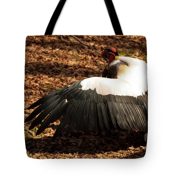 King Vulture 2 Strutting Tote Bag by Chris Flees