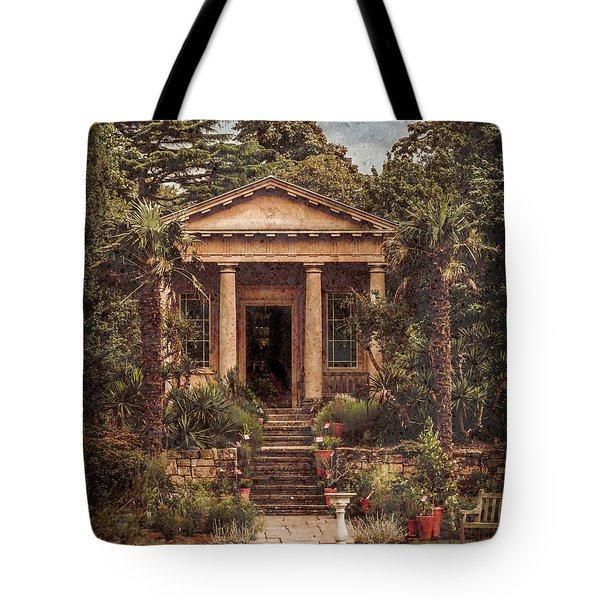 Kew Gardens, England - King William's Temple Tote Bag