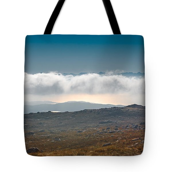 Tote Bag featuring the photograph Kingdom In The Sky by Gary Eason