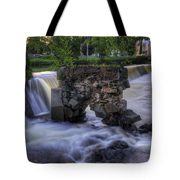 Kingfield Dam I Tote Bag