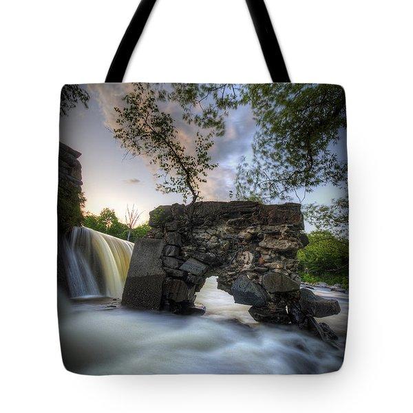 Kingfield Dam II Tote Bag
