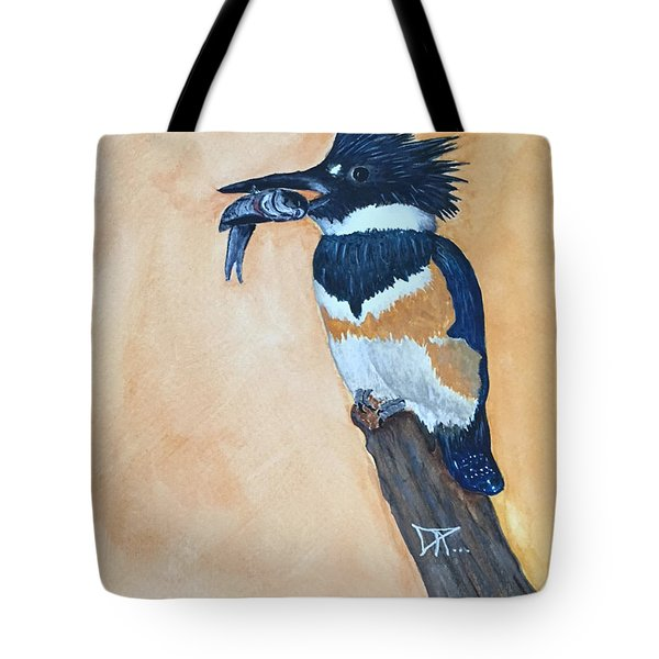 Kingfisher-2 Tote Bag