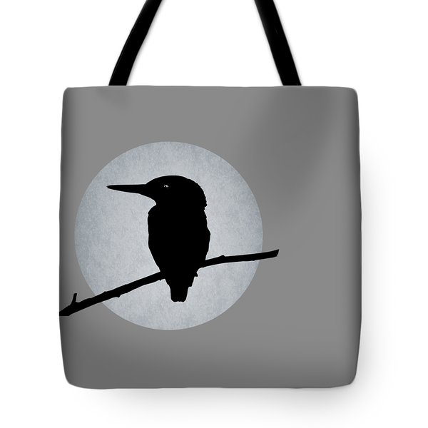 Kingfisher Tote Bag by Mark Rogan
