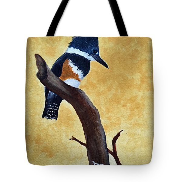 Kingfisher No. 1 Tote Bag