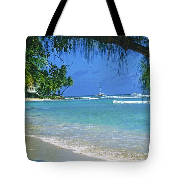 King's Beach, Barbados Tote Bag