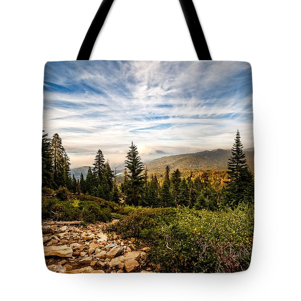Tote Bag featuring the photograph King's Canyon Crown by Jason Roberts