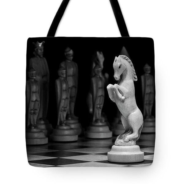 King's Court - The Valiant Knight Tote Bag