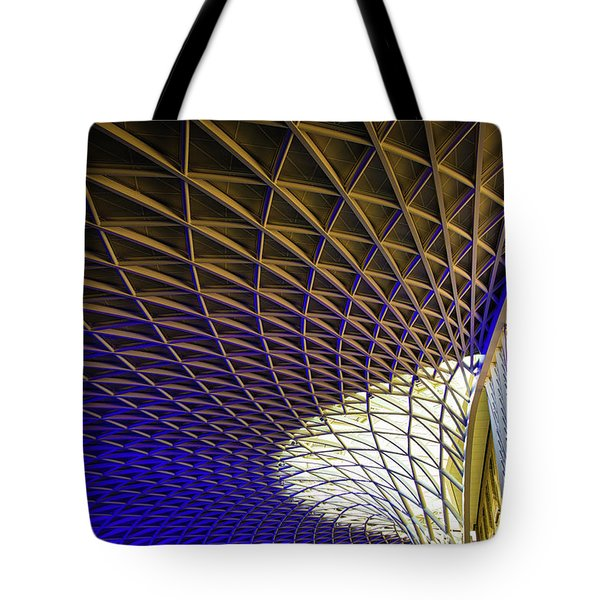 Kings Cross Railway Station Roof Tote Bag
