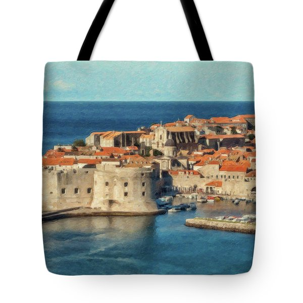 Kings Landing Dubrovnik Croatia - Dwp512798 Tote Bag