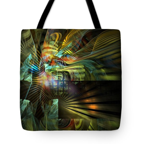 Tote Bag featuring the digital art Kings Ransom by NirvanaBlues