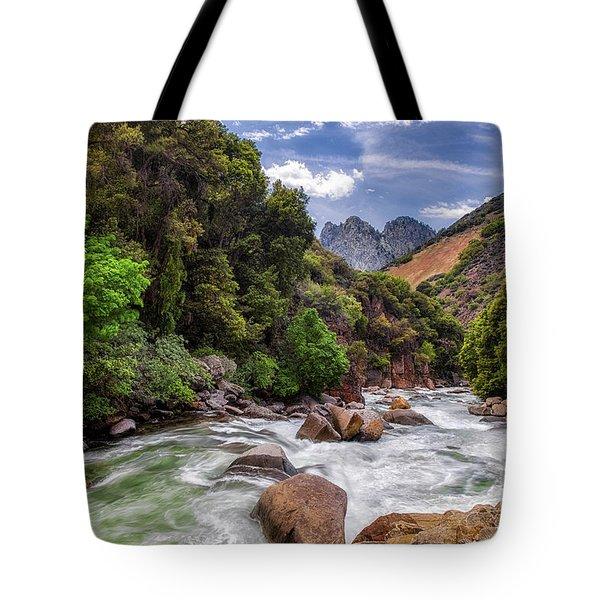 Kings River Tote Bag