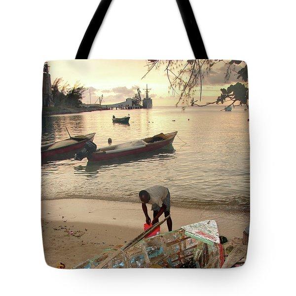 Kingston Jamaica Beach Tote Bag