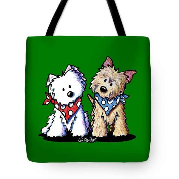 Kiniart Butch And Sundance Tote Bag