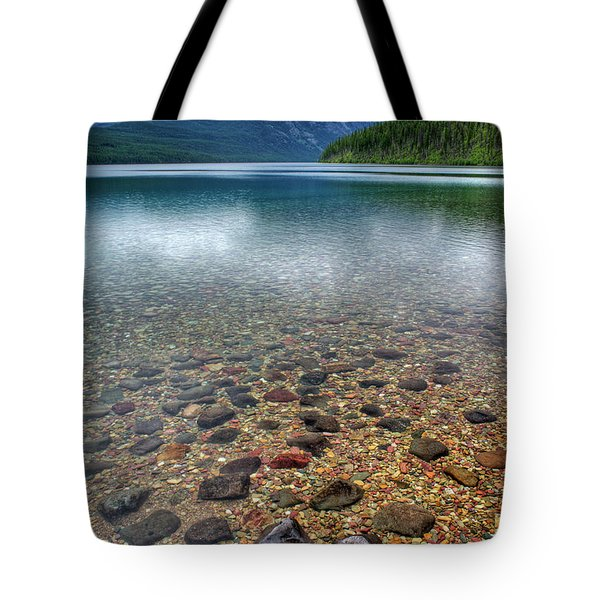 Kintla Lake Tote Bag