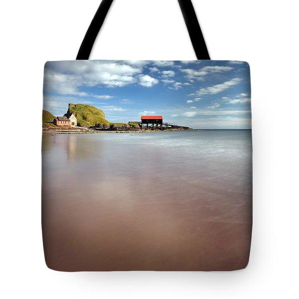 Kintyre Beach Tote Bag