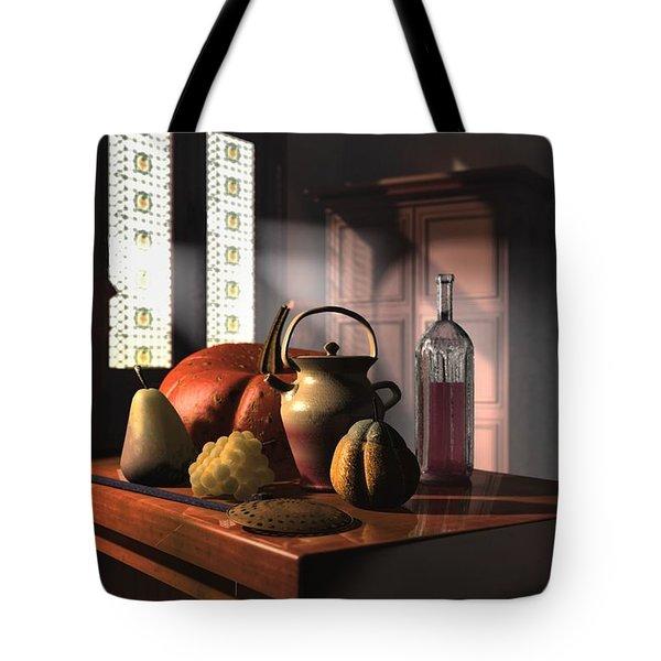 Kinzeliin Still Life 1 Tote Bag by Dave Luebbert