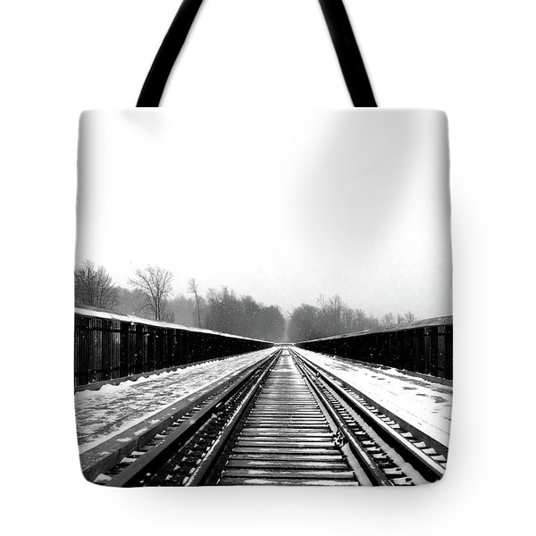 Kinzua Bridge Skywalk Tote Bag