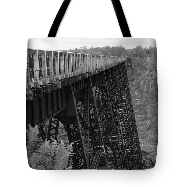 Kinzua Skywalk Tote Bag