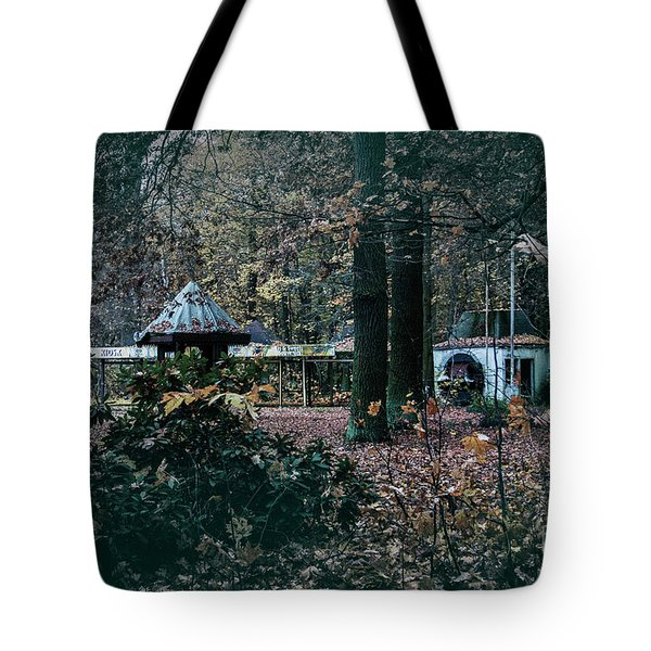 Tote Bag featuring the photograph Kiosk by Ana Mireles