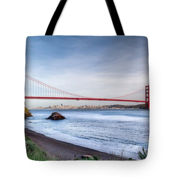 Kirby Cove Beach Tote Bag