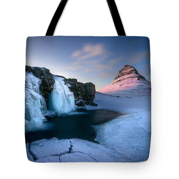 Kirkjufell, Iceland Tote Bag