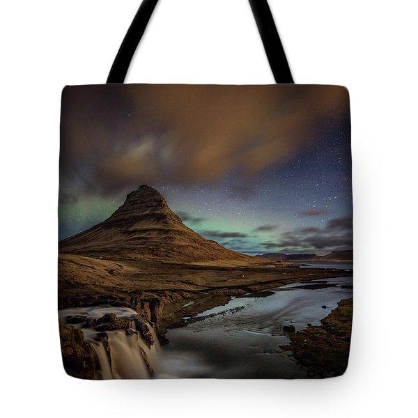 Kirkjufell Mountain Tote Bag
